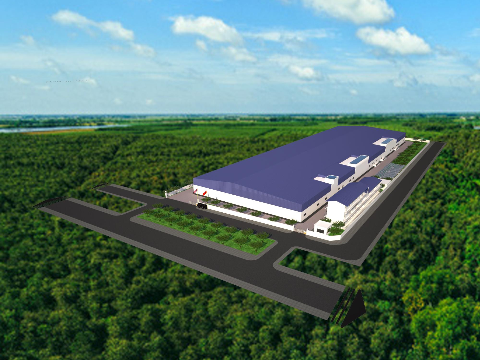 Nhà xưởng kết cấu thép Thái Bình
